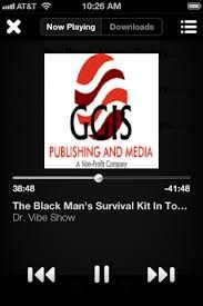 The Dr. Vibe Show™ Via GGIS Publishing Mobile App